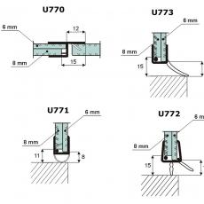 Uszczelki :U 770, U771, U772, U773